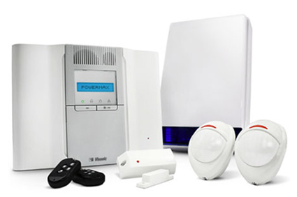 picture of wireless alarm system